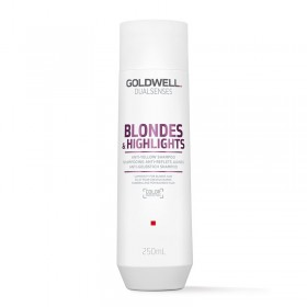 Goldwell Dual senses blond & highlights Anti brass shampoo 250ml