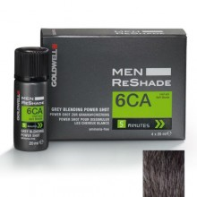 GOLDWELL COLOR MEN RESHADE 6CA CENERE FREDDA BIONDO SCURO 4X20ML