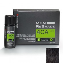 GOLDWELL COLOR MEN RESHADE 4CA CENERE FREDDO CASTANO MEDIO 4X20ML